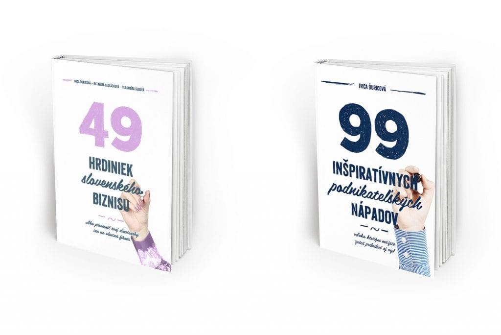 Biznisové knihy, autorka Ivica Ďuricová