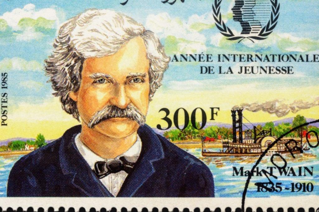 Spisovateľ Mark Twain