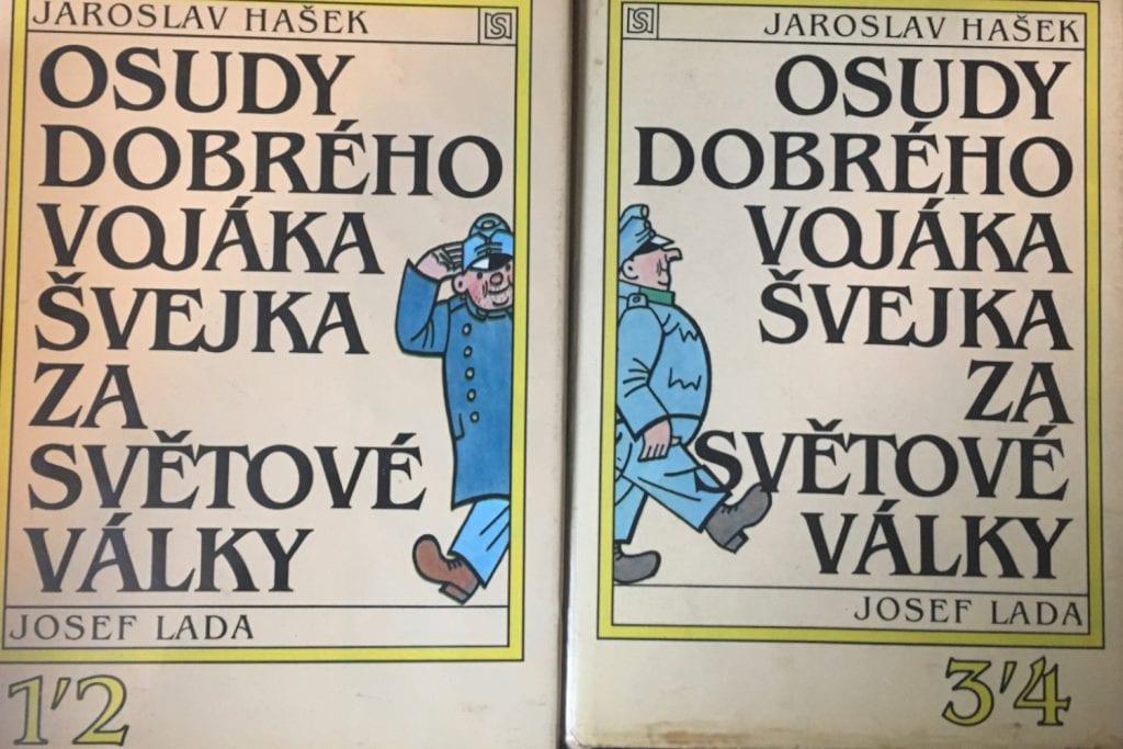 Obálky kníh Osudy dobrého vojaka Švejka
