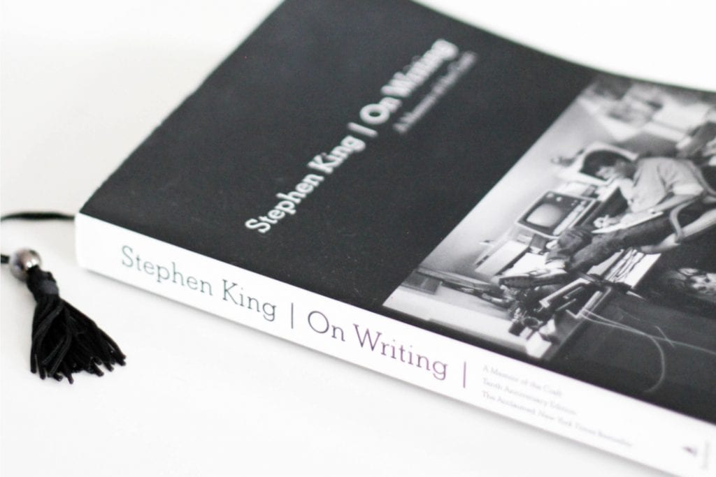 Kniha On Writing od Stephena Kinga