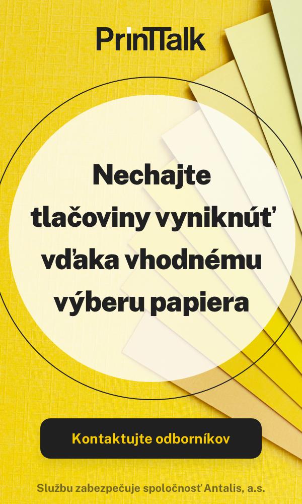 Banner Antalis - výber papiera
